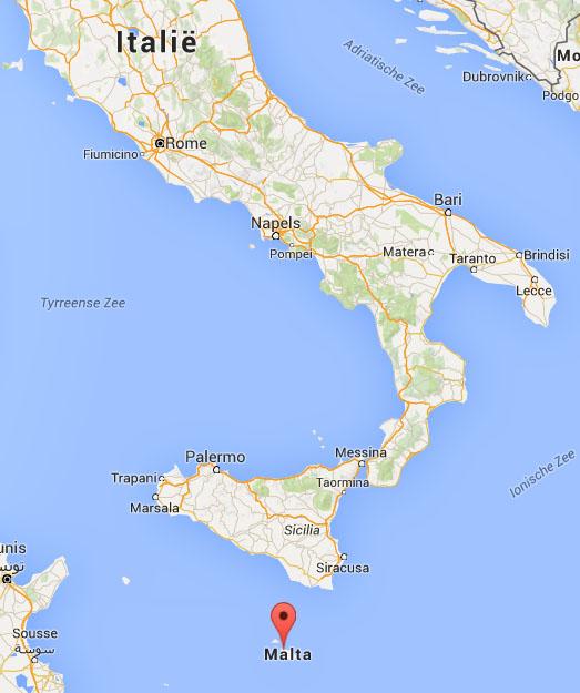 malta google maps