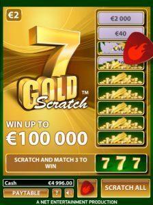 7 gold online krasloten