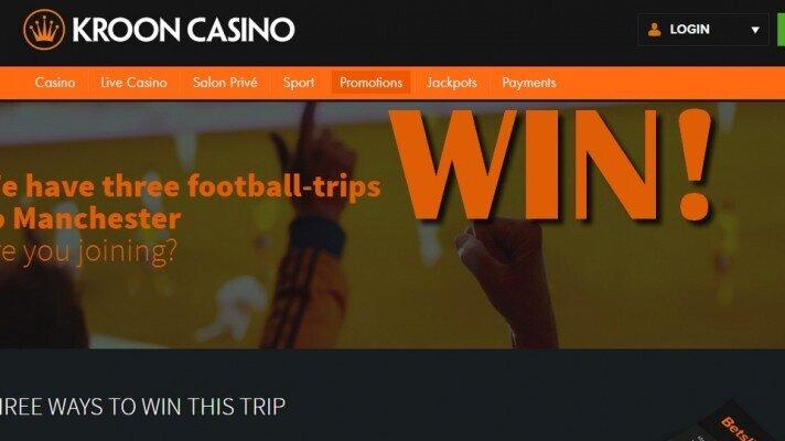 Kroon casino win