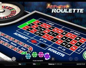 Alphabet Roulette