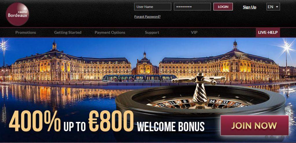 Casino Bordeaux Review 2016