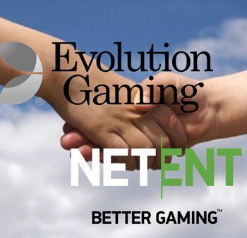 Evolution Gaming neemt slotgigant Netent over