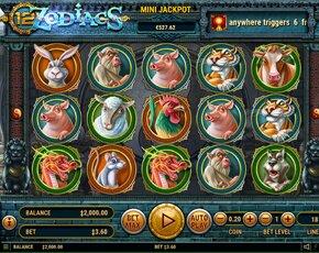 12 Zodiacs
