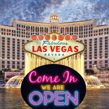De casino's van Las Vegas zijn open, maar de bezoekers blijven weg