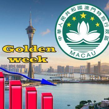 Veel minder bezoekers Golden Week Macau
