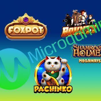 Microgaming brengt een groot aantal nieuwe games uit