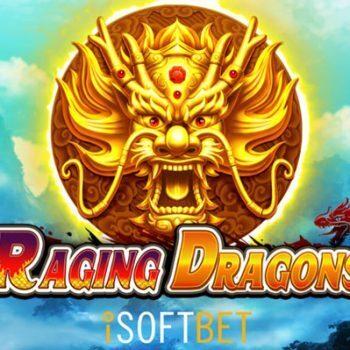 iSoftBet begint het nieuwe jaar goed met nieuwe videoslot Raging Dragons