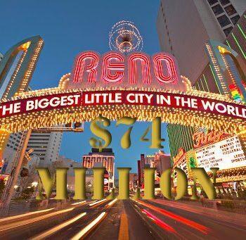 Caesars renoveert Reno resort voor 47 miljoen dollar