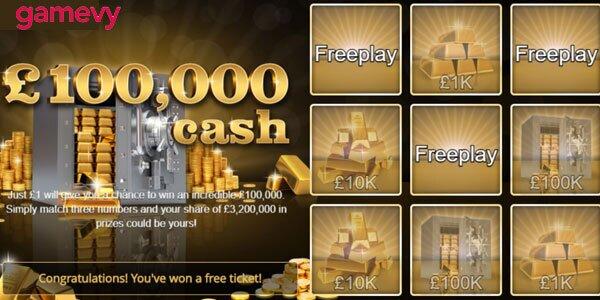 100K Scratch Cash kraslot