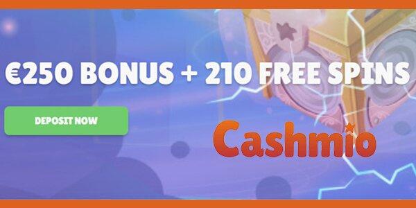 Cashmio welkomstbonus