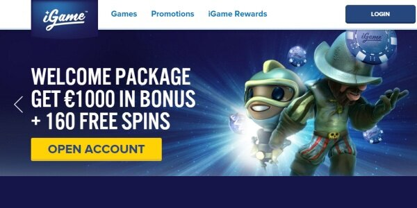 iGame casino promoties