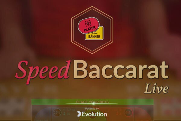 Speed Baccarat Evolution Gaming