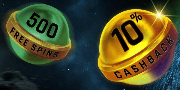 Casino Universe cashback bonus