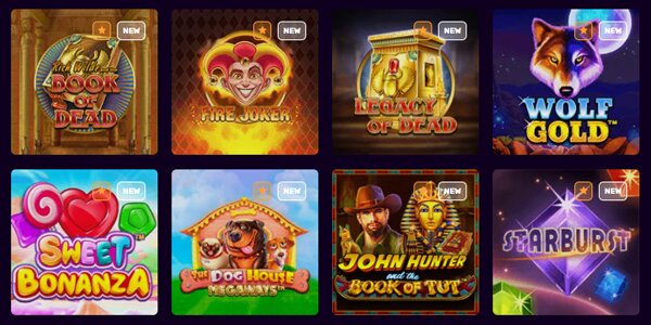 Dux casino spelaanbod