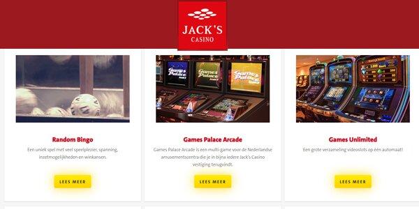 Jacks Casino Online spellen