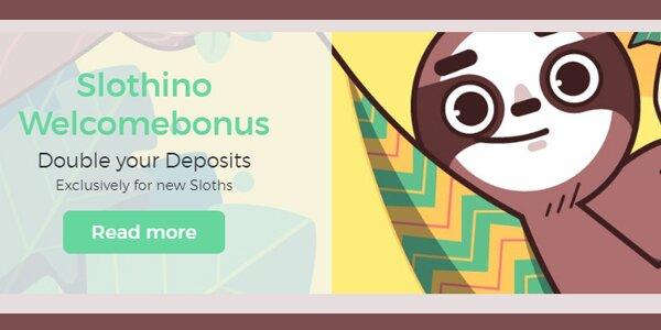 Slothino welkomstbonus