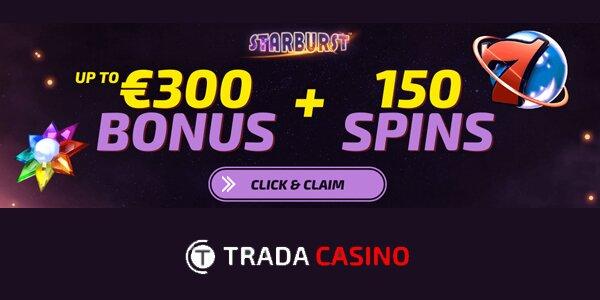 Trada Casino welkomstbonus