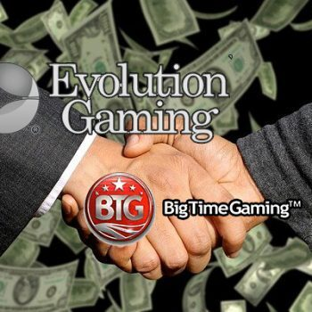 Evolution Gaming neemt Big Time Gaming over voor 450 miljoen euro