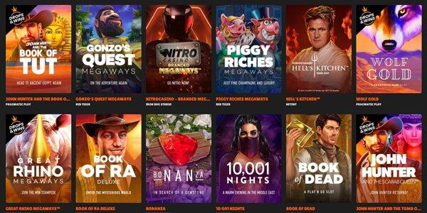 Nitro Casino spellen