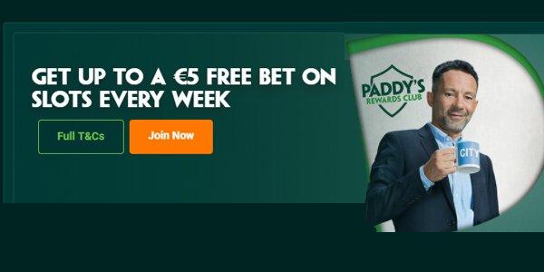 Paddy Power promoties