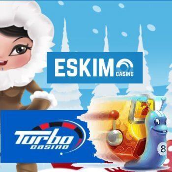 Turbo Casino en Eskimo Casino doen de boeken dicht