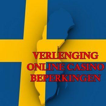Zweden verlengt tijdelijke online casinobeperkingen