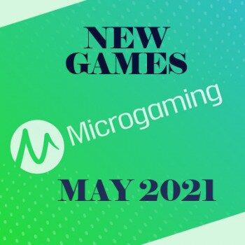 Microgaming brengt een hele reeks nieuwe games uit in mei